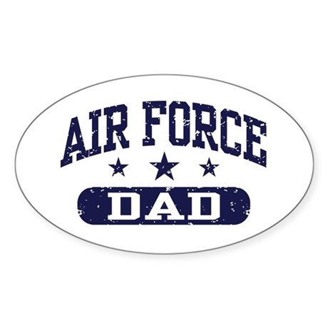 Air Force Dad Sticker (Oval)
