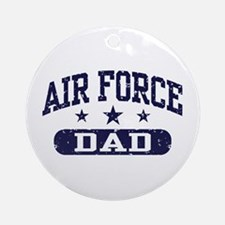 Air Force Dad Ornament (Round)