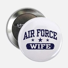 """Air Force Wife 2.25"""" Button"""