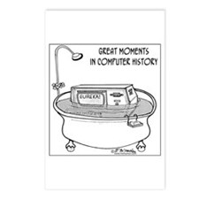 Computer in Tub Shouts Eureka Postcards (Package o