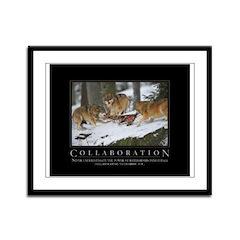 Collaboration Framed Panel Print