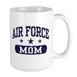 Air force mom Large Mugs (15 oz)