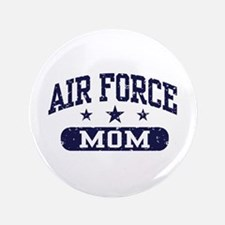 """Air Force Mom 3.5"""" Button"""