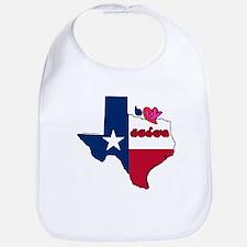 ILY Texas Bib