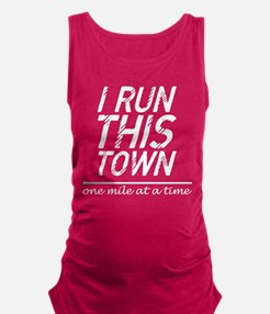 I Run This Town One Mile At A Time BBQ Tank Top