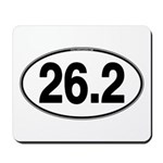 26.2 Euro Oval Mousepad
