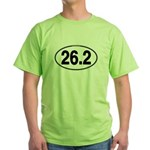 26.2 Euro Oval Green T-Shirt
