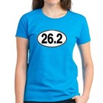 26.2 Euro Oval Women's Dark T-Shirt