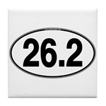 26.2 Euro Oval Tile Coaster