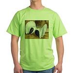 Saddle Fantails Green T-Shirt