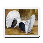 Saddle Fantails Mousepad