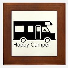 Happy Camper Framed Tile