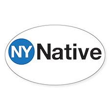 NY Native Subway Decal