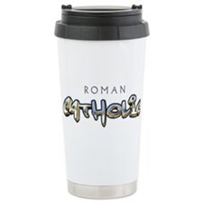Chrome Catholic Travel Coffee Mug