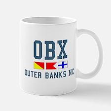 Outer Banks NC - Nautical Design Mug