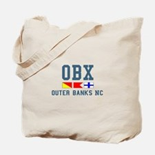 Outer Banks NC - Nautical Design Tote Bag