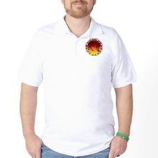 Kung Fu Tiger and symbol T-Shirt