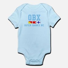 Outer Banks NC - Nautical Design Infant Bodysuit