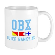 Outer Banks NC - Nautical Design Mug