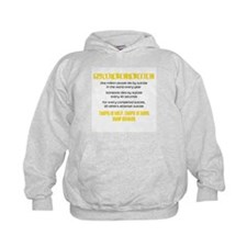 Yellow Suicide Stats Hoodie