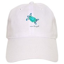 save the gulf - sea turtle bl Cap
