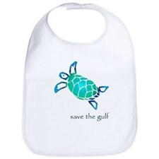 save the gulf - sea turtle bl Bib
