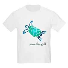 save the gulf - sea turtle bl T-Shirt