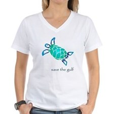 save the gulf - sea turtle bl Shirt