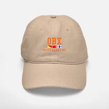 Outer Banks NC - Nautical Design Baseball Baseball Cap