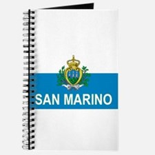 Sammarinese Flag (labeled) Journal