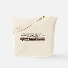 Cute Humor bassoon Tote Bag