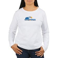 Outer Banks NC - Waves Design T-Shirt