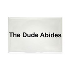 The Dude Abides Rectangle Magnet (10 pack)