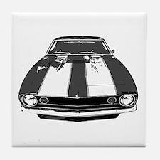 67 Camaro Tile Coaster