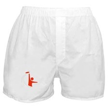 Orange Logo Boxer Shorts