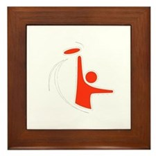 Orange Logo Framed Tile