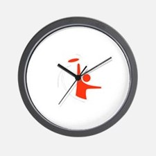 Orange Logo Wall Clock