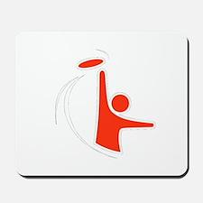 Orange Logo Mousepad