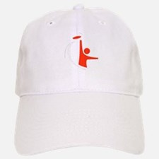 Orange Logo Baseball Baseball Cap
