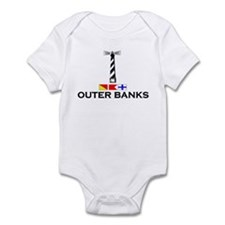 Outer Banks NC - Lighthouse Design Infant Bodysuit