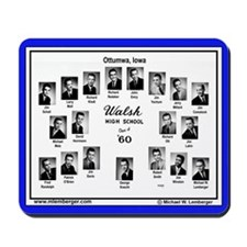 1960 Walsh High School, Ottumwa, IowaMousepad