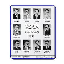 1958 Walsh High School, Ottumwa, Iowa, Mousepad