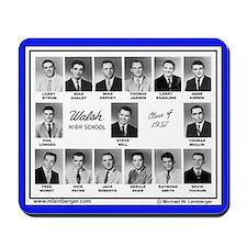 1957 Walsh High School, Ottumwa, Iowa, Mousepad
