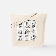 Saga Characters Tote Bag