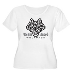 Team Jacob Wolfpack Women's Plus Size Scoop Neck T