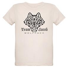 Team Jacob Wolfpack Organic Kids T-Shirt