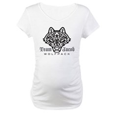 Team Jacob Wolfpack Maternity T-Shirt