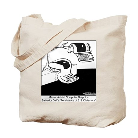 Salvador Dali's Computer Graphics Tote Bag