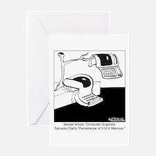 Salvador Dali's Computer Graphics Greeting Card