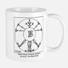 da Vinci's Robot Mug